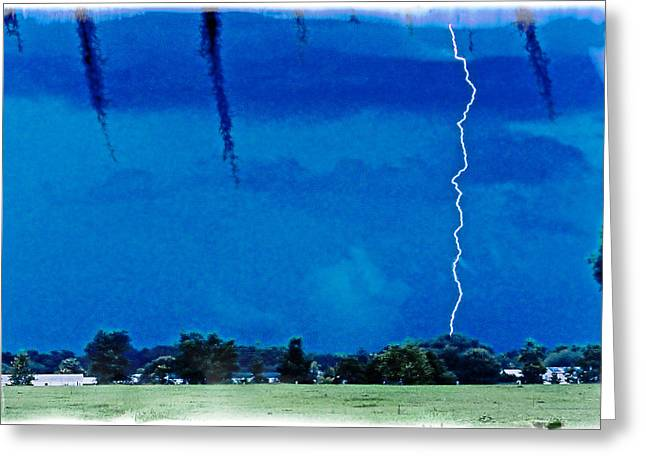 Greeting Card featuring the photograph Underneath- My Fears by Janie Johnson
