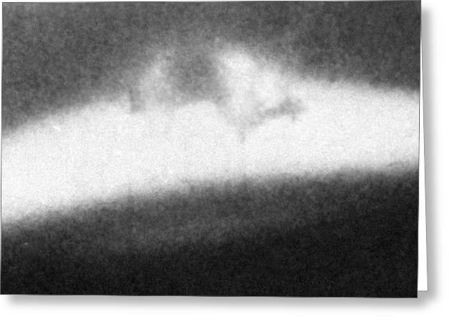 Unidentified Flying Object (ufo) Greeting Card by Ria Novosti