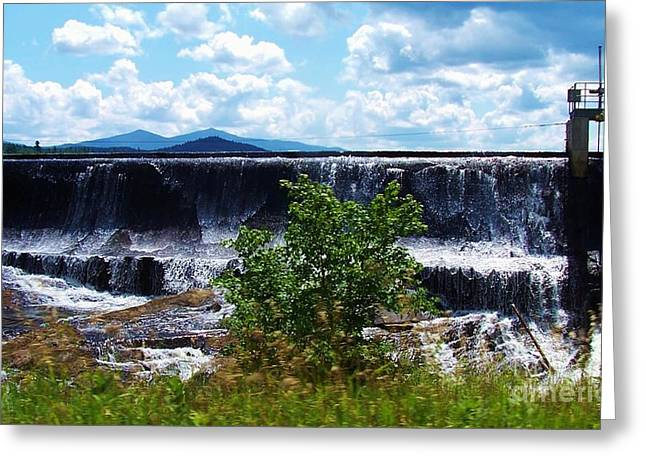 Union Falls  Greeting Card by Peggy Miller