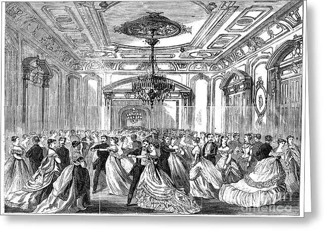Union League Club, 1868 Greeting Card by Granger