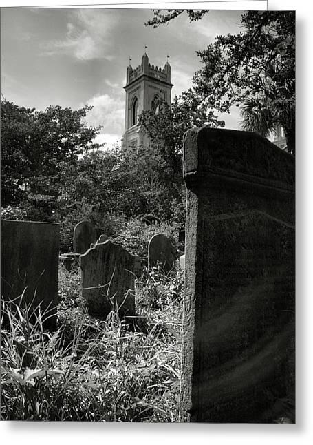 Unitarian Church Cemetery Greeting Card