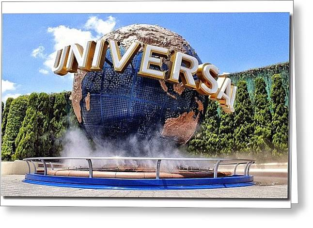 Universal Studios Japan Greeting Card
