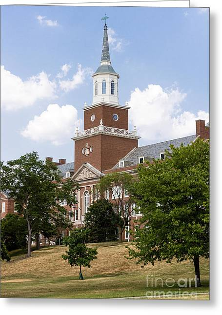 University Of Cincinnati Mcmicken College Greeting Card by Paul Velgos