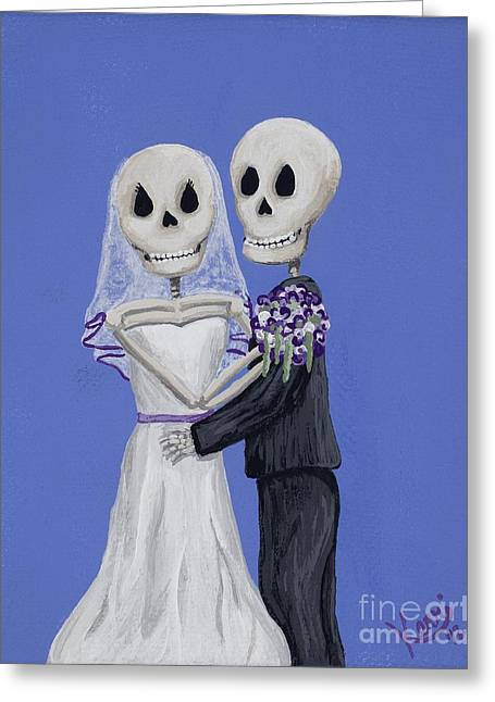 Until Death... Greeting Card