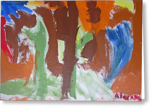Untitled Abstract 1 Greeting Card