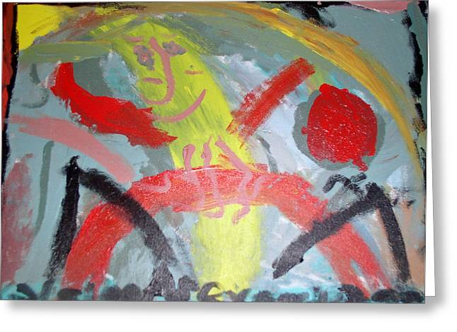 Untitled Abstract 2 Greeting Card
