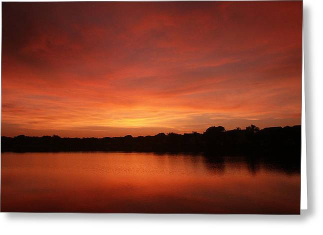 Untitled Sunset-28 Greeting Card