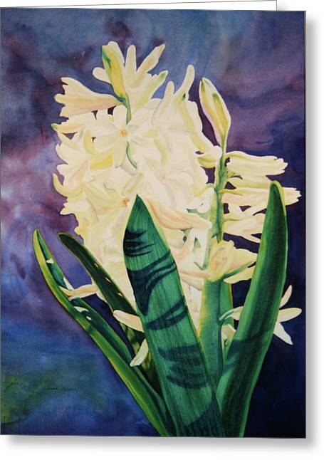 Greeting Card featuring the painting Untitled by Teresa Beyer