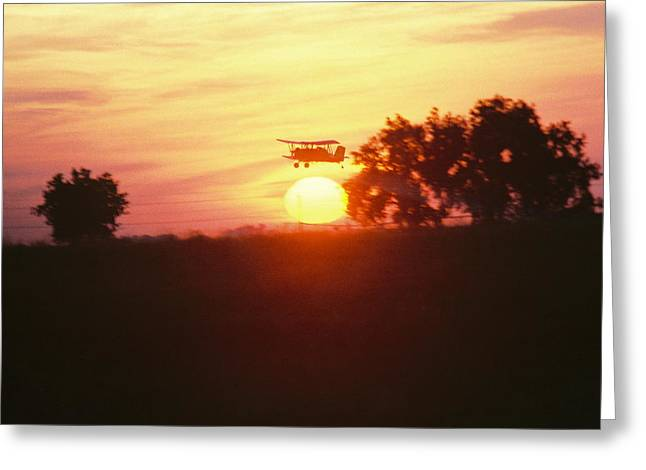 Up Before The Sun Greeting Card by Trent Mallett