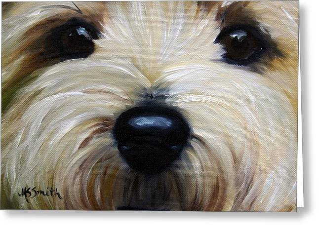 Up Close And Personal IIi Greeting Card by Mary Sparrow