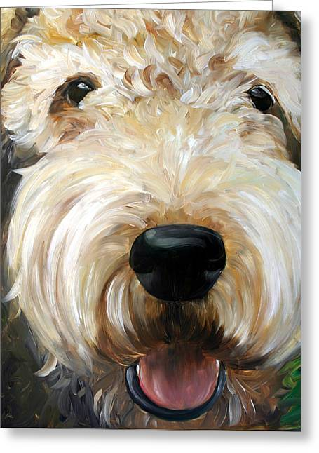 Up Close  Greeting Card by Mary Sparrow