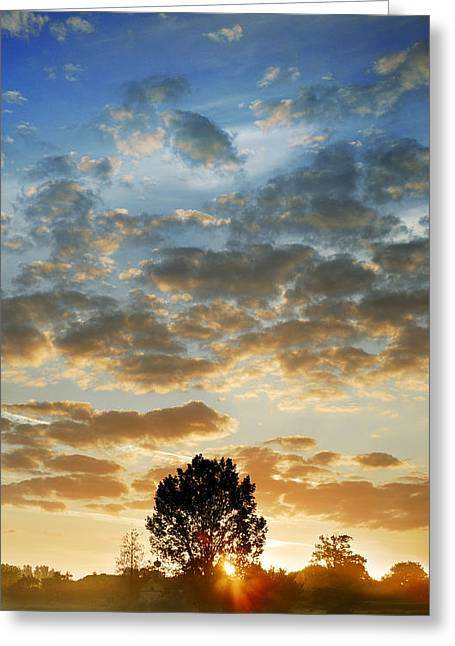 Greeting Card featuring the photograph Up Up And Away by John Chivers