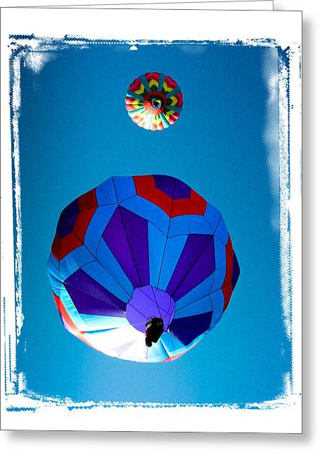 Up Up And Away Greeting Card by Mike Martin