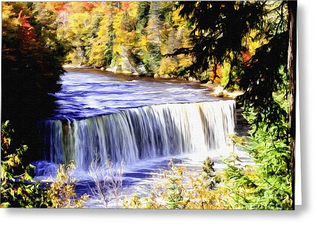 Upper Tehquamenon Falls Greeting Card
