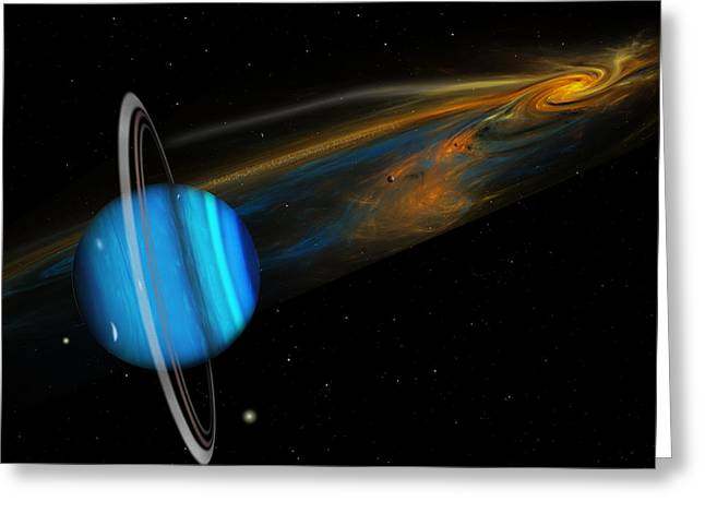 Uranus Greeting Card