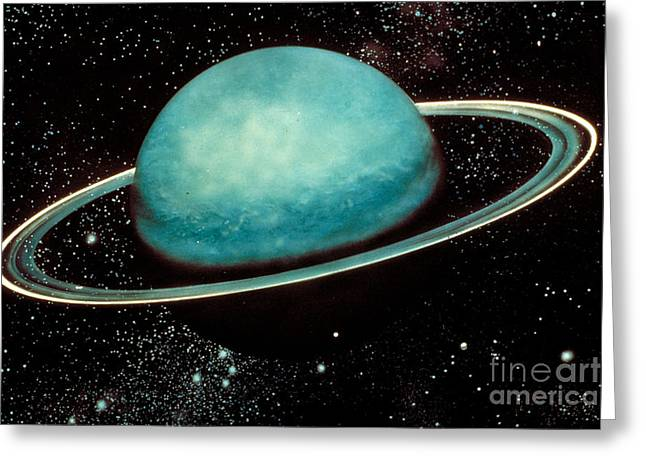 Uranus With Its Rings Photograph by Nasa