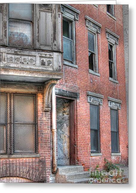 Urban Decay In Cincinnati Greeting Card
