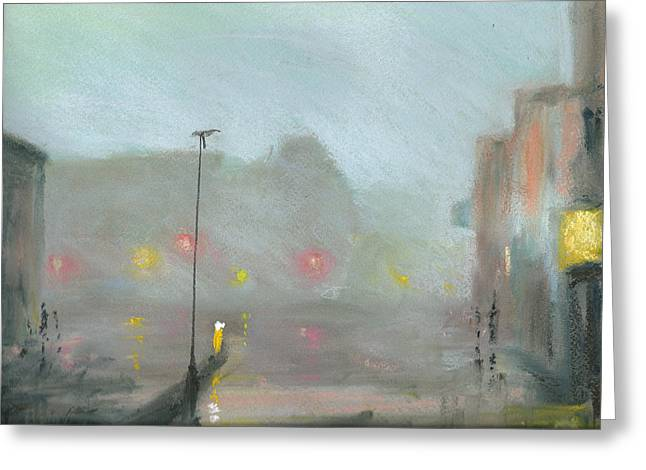Urban Mist 2 Greeting Card by Paul Mitchell