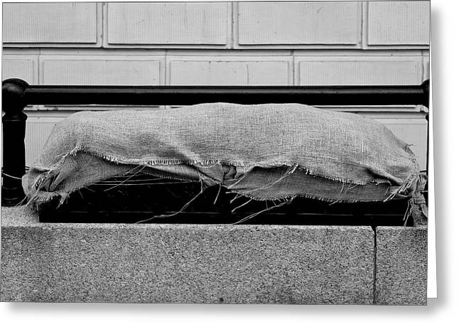 Urban Sarcophagus Greeting Card by Robert Ullmann