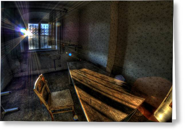 Urbex Morning Wake Up Greeting Card by Nathan Wright