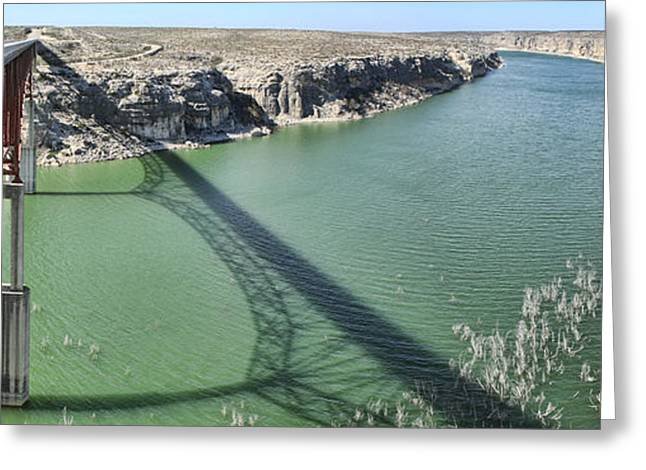 Greeting Card featuring the photograph Us 90 Bridge Over Pecos River by Gregory Scott