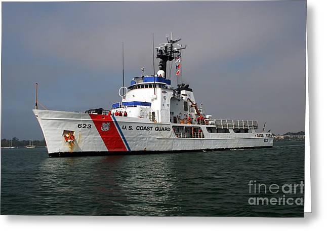 U.s. Coast Guard Cutter Steadfast Greeting Card