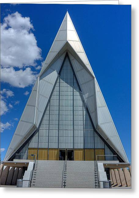 Usaf Academy Chapel - 4 Greeting Card by David Bearden