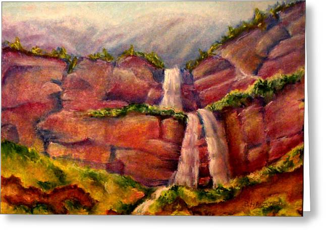 Utah National Forest Greeting Card by Patricia Halstead