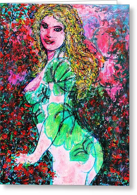 Valentina 2 Greeting Card by Natalie Holland