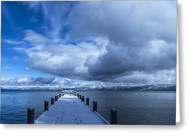 Valhalla Winter Wonderland Greeting Card by Brad Scott