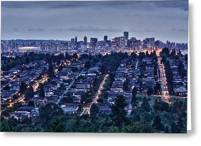 Greeting Card featuring the photograph Vancouver Bc Canada by Scott Holmes