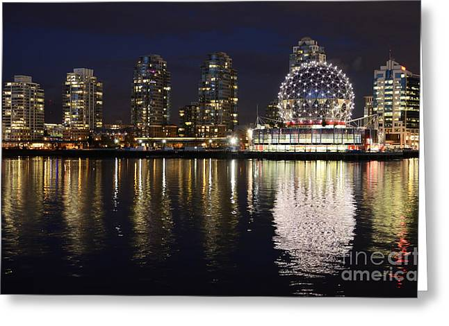 Vancouver British Columbia 2 Greeting Card