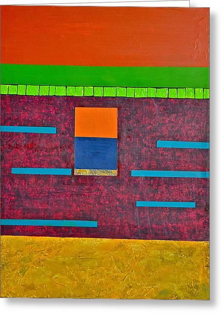 Variations In Line Greeting Card by Jim Ellis