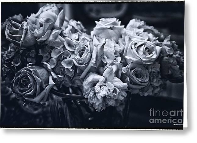 Vase Of Flowers 2 Greeting Card by Madeline Ellis