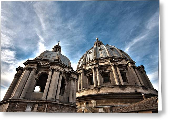 Vatican Dome Greeting Card