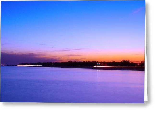 Greeting Card featuring the photograph Velvet At Dusk by Brian Wright