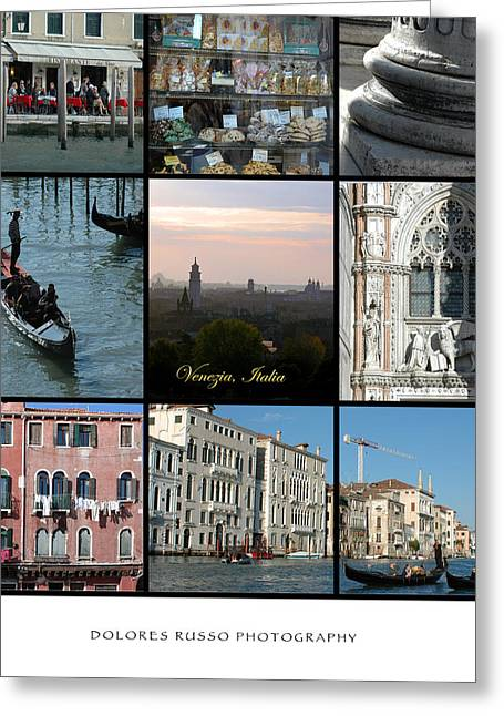 Venezia Greeting Card by Dolores Russo