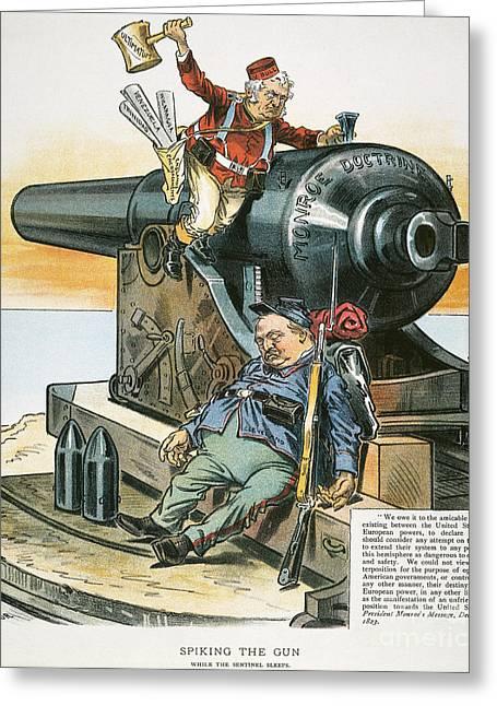 Venezuela Boundary, 1895 Greeting Card by Granger