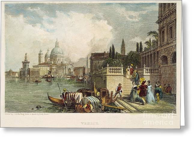 Venice, 1833 Greeting Card