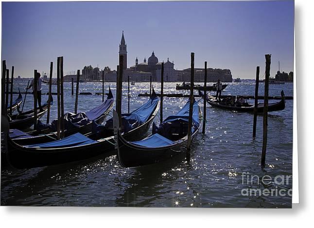 Venice At Dusk Greeting Card