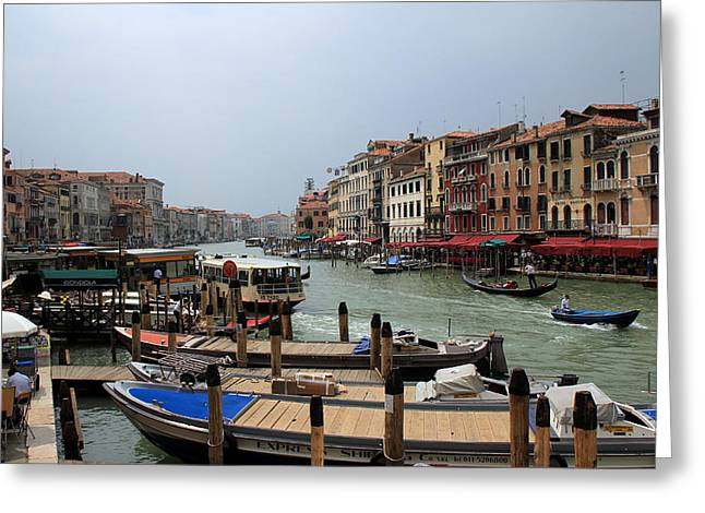 Venice Grand Canal 1 Greeting Card