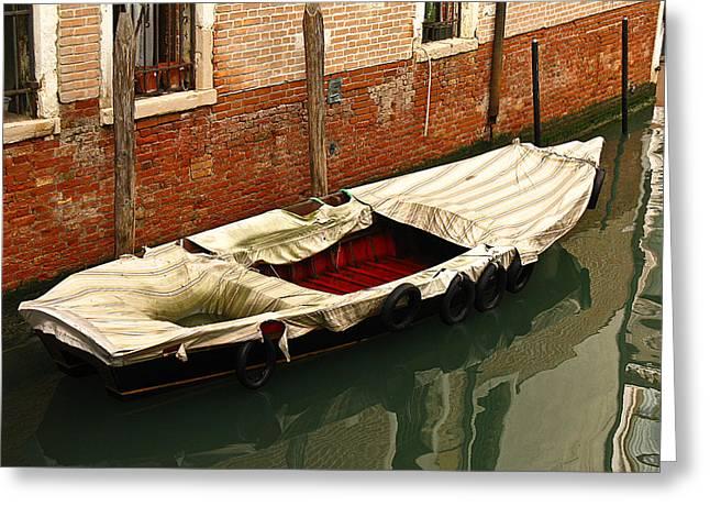 Venice Italy Fine Art Print Greeting Card by Ian Stevenson