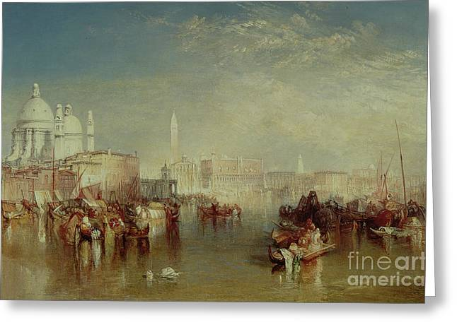 Venice Greeting Card by Joseph Mallord William Turner