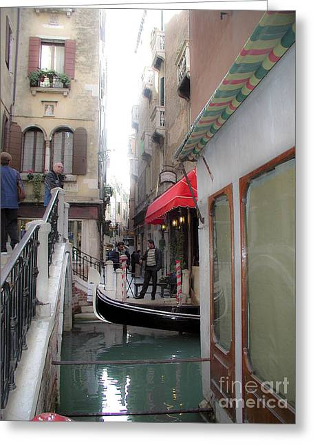 Greeting Card featuring the photograph Venice by Leslie Hunziker