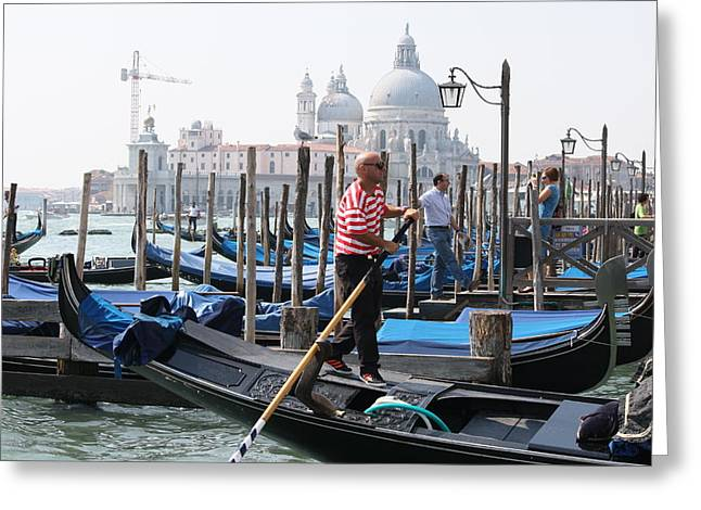 Venice Greeting Card by Mary-Lee Sanders