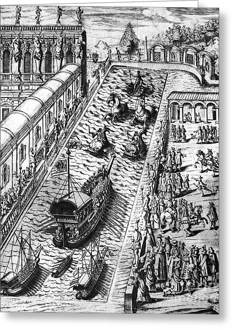 Venice: Procession Greeting Card by Granger