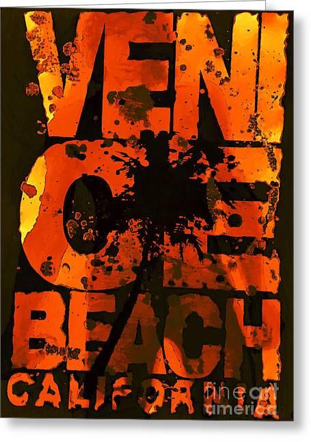 Venice Rocks Greeting Card