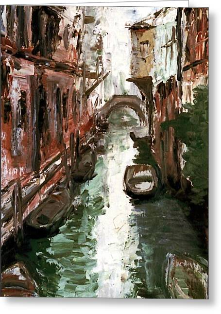 Venice Greeting Card by Sophie Brunet