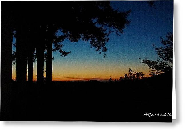 'ventana Sunset' Greeting Card by PJQandFriends Photography