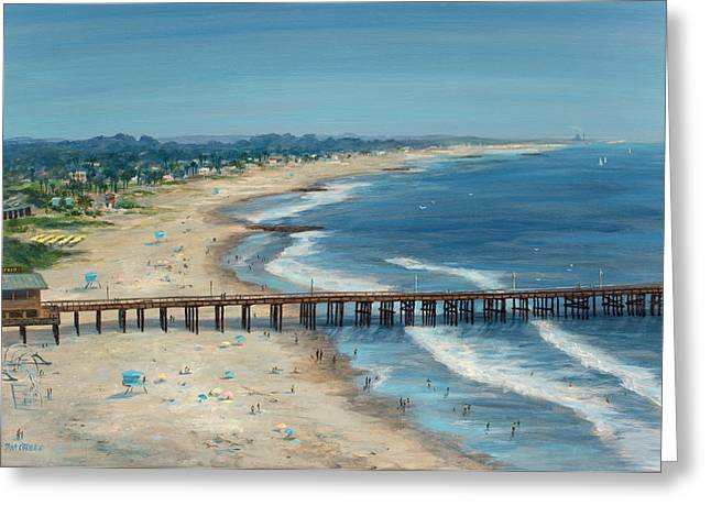 Ventura Pier Summer Time Greeting Card